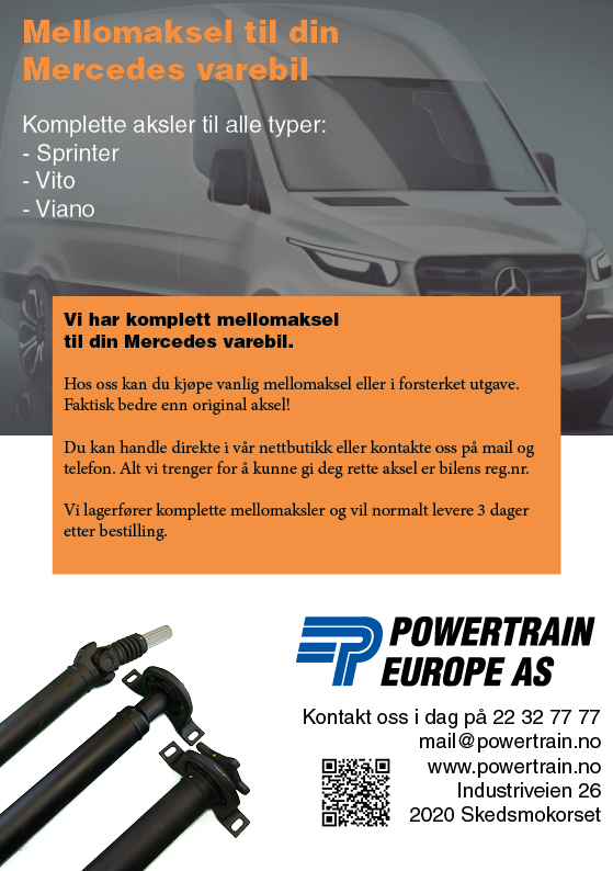 Powertrain Mercedes Flyer
